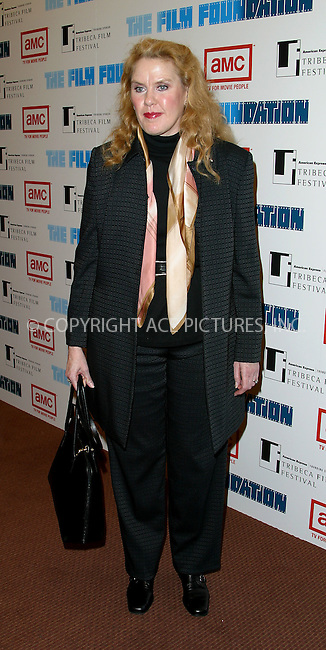 "Celia Weston arrives at the premiere of newly restored version of ""The Good, The Bad And The Ugly"" during Secon Annual TriBeCa Film Festival. May 8, 2003. Please byline: Alecsey Boldeskul/NY Photo Press.   ..*PAY-PER-USE*      ....NY Photo Press:  ..phone (646) 267-6913;   ..e-mail: info@nyphotopress.com"