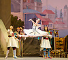 Le Corsaire <br /> by Alexei Ratmansky of Petipa <br /> Bolshoi Ballet <br /> at The Royal Opera House, Covent House, London, Great Britain <br /> 11th August 2016 <br /> Rehearsal<br /> <br /> <br /> <br /> <br /> Yulia Stepanova as Medora<br /> <br /> <br /> <br /> <br /> Photograph by Elliott Franks <br /> Image licensed to Elliott Franks Photography Services