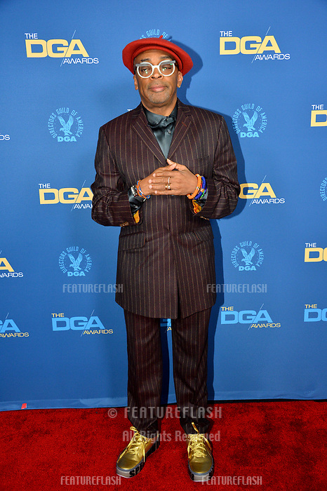 LOS ANGELES, CA. February 02, 2019: Spike Lee at the 71st Annual Directors Guild of America Awards at the Ray Dolby Ballroom.<br /> Picture: Paul Smith/Featureflash