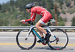 "August 121, 2015 - Breckenridge, Colorado, U.S. -  Pepper Palace rider, Amy Phillips, during the inaugural women's edition of the U.S. Pro Cycling Challenge, Breckenridge, Colorado.  Known as ""America's Race,"" the USA Pro Challenge takes place August 17-23, 2015 and for the first time will highlight women's cycling through an inaugural  three-day invitation-only event that will feature many of the USA's top women cyclists."