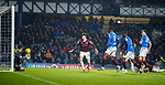01.12.2019 Rangers v Hearts: Greg Stewart scores goal no 5 for Rangers
