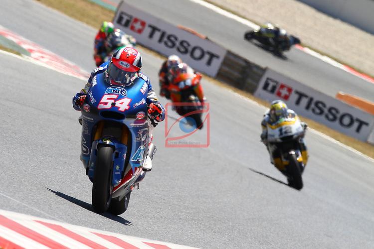Gran Premi Monster Energy de Catalunya 2017.<br /> Moto 2 Race.<br /> Mattia Pasini.