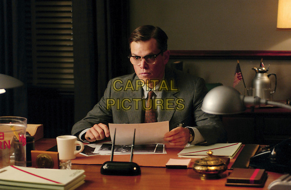 MATT DAMON .in The Good Shepherd .**Editorial Use Only**.CAP/FB.Supplied by Capital Pictures