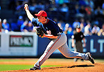 7 March 2010: Washington Nationals' pitcher Matt Capps on the mound during a Spring Training game against the New York Mets at Tradition Field in Port St. Lucie, Florida. The Mets edged out the Nationals 6-5 in Grapefruit League pre-season play. Mandatory Credit: Ed Wolfstein Photo