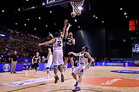 New Zealand Tall Blacks&rsquo; Jordan Ngatai in action during the FIBA World Cup Basketball Qualifier - NZ Tall Blacks v Jordan at Horncastle Arena, Christchurch, New Zealand on Thursday 29 November  2018. <br /> Photo by Masanori Udagawa. <br /> www.photowellington.photoshelter.com