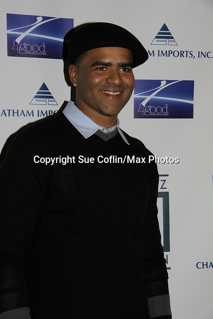 In The Heights' Christoper Jacison at Broadway Takes the Runway which benefits Al D. Rodriguez Liver Foundation on October 4, 2010 at Touch, New York City, New York. (Photo by Sue Coflin/Max Photos)