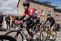 Bart De Clercq (BEL/Lotto-Soudal) in the leading group up Côte de Saint-Roch in  Houffalize<br /> <br /> 103rd Liège-Bastogne-Liège 2017 (1.UWT)<br /> One Day Race: Liège › Ans (258km)