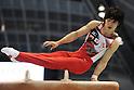Kohei Uchimura (JPN),JULY 3rd, 2011 - Artistic Gymnastics :Japan Cup 2011 Men's Individual All-Around Pommel Horse at Tokyo Metropolitan Gymnasium in Tokyo, Japan. (Photo by AZUL/AFLO)
