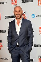 """LOS ANGELES - AUG 15:  Matt Gerald at the """"Shot Caller"""" Premiere at The Theatre at Ace Hotel on August 15, 2017 in Los Angeles, CA"""