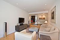 Living Room at 250 West 24th Street