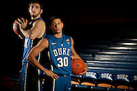 Duke Basketball: Seth Curry and Ryan Kelly for USA Today