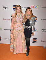BEVERLY HILLS, CA - MAY 10: Nancy Davis (L) and Latoya Jackson attend the 26th Annual Race to Erase MS Gala at The Beverly Hilton Hotel on May 10, 2019 in Beverly Hills, California.<br /> CAP/ROT<br /> &copy;ROT/Capital Pictures