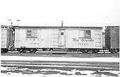 Office car 04982.<br /> D&amp;RGW    Taken by Richardson, Robert W. - 2/17/1958