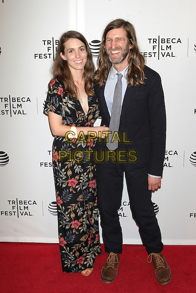 NEW YORK, NEW YORK - APRIL 15: Sophia Takal and Lawrence Michael Levine at the World Premiere Narrative of 'Always Shine' diring  the 2016 Tribeca Film Festival at Bowtie Cinemas on April 15, 2016 in New York City. <br /> CAP/MPI99<br /> &copy;MPI99/Capital Pictures