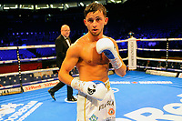 Harvey Horn (white shorts) defeats Gyula Dodu during a Boxing Show at the The O2 Arena on 23rd June 2018