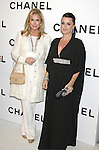 Kathy Hilton and Kyle Richards arrive at Chanel's Launch of Highly Anticipated New Concept Boutique on Robertson Boulevard on May 29, 2008 in Los Angeles, California.