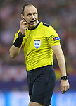 Sweden referee Jonas Eriksson during Champions League 2016/2017 Quarter-finals 1st leg match. April 12,2017. (ALTERPHOTOS/Acero)