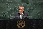 General Assembly Seventy-fourth session<br /> <br /> <br /> <br /> His Excellency Don PRAMUDWINAIMinister for Foreign Affairs of Thailand