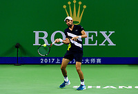 JEREMY CHARDY (FRA)<br /> <br /> TENNIS - SHANGHAI ROLEX MASTERS - QI ZHONG TENNIS CENTER - MINHANG DISTRICT - SHANGHAI - CHINA - ATP 1000 - 2017 <br /> <br /> <br /> <br /> &copy; TENNIS PHOTO NETWORK