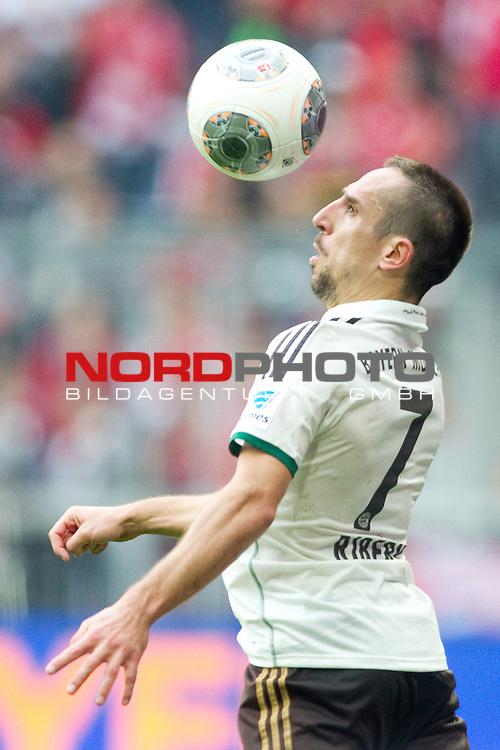 28.09.2013, Allianz Arena, Muenchen, GER, 1.FBL,  FC Bayern Muenchen vs . VfL Wolfsburg, im Bild Franck Ribery (FCB #7)  / Foto © nph / Straubmeier