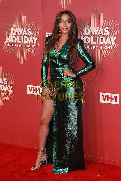 NEW YORK, NY - DECEMBER 2:  Lala Anthony at   VH1 DIVAS HOLIDAY: UNSILENT NIGHT at  Kings Theatre on  December 2, 2016 in New York City. <br /> CAP/MPI99<br /> &copy;MPI99/Capital Pictures
