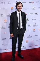 NEW YORK, NY 21.11.2016 - EMMY-2016 -  Florian Stetter durante tapete vermelho do Emmy Internacional 2016 prêmio dos melhores atores e novelas da TV, em Nova York, nos Estados Unidos na noite desta segunda-feira, 21. (Foto: Vanessa Carvalho/Brazil Photo Press)