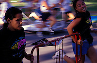 Annual Honolulu International Bed Race, Kapiolani Park, Honolulu