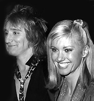 Rod Stewart and Olivia Newton-John 1979<br />