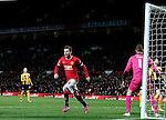 Juan Mata of Manchester United celebrates his goal - FA Cup Fourth Round replay - Manchester Utd  vs Cambridge Utd - Old Trafford Stadium  - Manchester - England - 03rd February 2015 - Picture Simon Bellis/Sportimage