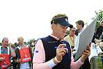 Ian Poulter signs autographs during Practice Day 3 of the The 2010 Ryder Cup at the Celtic Manor, Newport, Wales, 29th September 2010..(Picture Eoin Clarke/www.golffile.ie)