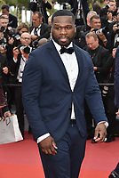 Curtis Jackson, 50 Cent<br /> CANNES, FRANCE - MAY 15: Arrivals at the screening of 'Solo: A Star Wars Story' during the 71st annual Cannes Film Festival at Palais des Festivals on May 15, 2018 in Cannes, France. <br /> CAP/PL<br /> &copy;Phil Loftus/Capital Pictures