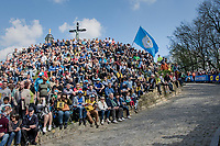 huge crowds waiting for the riders up the infamous Muur van Geraardsbergen (1100m/7.6%) that is back in the parcours after a 5 year hiatus<br /> <br /> 101th Ronde Van Vlaanderen 2017 (1.UWT)<br /> 1day race: Antwerp › Oudenaarde - BEL (260km)