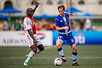 AEGON Ajax All Stars vs HKFC Chairman's Select during the Day 2 of the HKFC Citibank Soccer Sevens 2014 on May 24, 2014 at the Hong Kong Football Club in Hong Kong, China. Photo by Victor Fraile / Power Sport Images