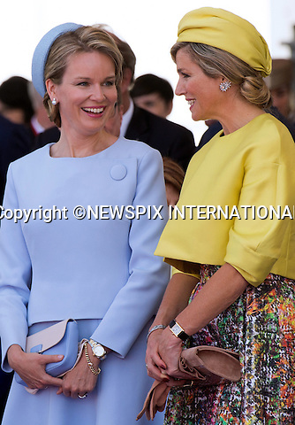 06.06.2014; Ouistreham, FRANCE; 70TH ANNIVERSAY OF LIBERATION<br /> Heads of State and Royalty attend the International Ceremony remembering the D-Day invasion of 6th June 1944, that signaled beginning of the end of the World War ll.<br /> <br /> 70&egrave;me Anniversaire de la Lib&eacute;ration en Normandie - C&eacute;r&eacute;monie Internationale &agrave; Ouistreham, en pr&eacute;sence de Fran&ccedil;ois Hollande, Pr&eacute;sident de la R&eacute;publique fran&ccedil;aise, du Premier ministre et de tous les les chefs de d&eacute;l&eacute;gation.<br /> Those attending included Fran&ccedil;ois Hollande, President of the French Republic, President Barack Obama, Queen Elizabeth II, King Philippe of Belgium, Angela Merkel, Grand Duke of Luxembourg, Henri, King Willem-Alexander of the Netherlands, King Harald V of Norway, Vladimir Putin, Tony Abbott ; Prime Minister of Australia, Stephen Harper ; Prime Minister of Canada, Milos Zeman ; President of the Czech Republic, Queen of Danemark ; Margrethe II, Karolos Papoulias ; President of the Hellenic Republic, Giorgio Napolitano ; President of the Italian Republic, Jerry Mateparae ; Governor-General of New-Zealand, Bronislaw Komorowski ; President of the Republic of Poland, Ivan Gasparovic ; President of the Slovak Republic, Queen Mathilde of Belgium, Prince Albert II of Monaco, Prince Charles, Prince Philip, Camilla, Duchess of Cornwall, Herman Van Rompuy, Elio Di Rupo, Maria Teresa of Luxembourg, Queen Maxima of the Netherlands, David Cameron, Grand Duke Jean of Luxembourg, Erna Solberg, Prime Minister of Norway.<br /> Mandatory Credit Photos:&copy;NEWSPIX INTERNATIONAL<br /> <br /> **ALL FEES PAYABLE TO: &quot;NEWSPIX INTERNATIONAL&quot;**<br /> <br /> PHOTO CREDIT MANDATORY!!: NEWSPIX INTERNATIONAL(Failure to credit will incur a surcharge of 100% of reproduction fees)<br /> <br /> IMMEDIATE CONFIRMATION OF USAGE REQUIRED:<br /> Newspix International, 31 Chinnery Hill, Bishop's Stortford, ENGLAND CM23 3PS<br /> Tel:+44127