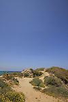 Israel, Southern Coastal Plain, Yavne Yam on the Mediterranean coast