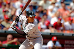 5 September 2005: Miguel Cabrera, outfielder for the Florida Marlins, at bat during a game against the Washington Nationals. The Nationals defeated the Marlins 5-2 at RFK Stadium in Washington, DC. Mandatory Photo Credit: Ed Wolfstein.