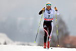 Katerina Smutna in action during the Women 5 km Classic Individual in Val Di Fiemme<br /> <br /> &copy; Pierre Teyssot