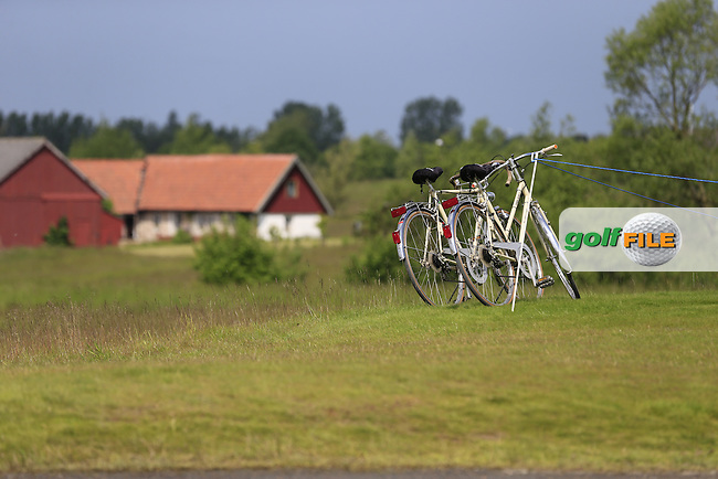 Local transport during Sunday's Final Round of the 2014 Nordea Masters held at the PGA of Sweden National Lakes Course, Malmo, Sweden.1st June 2014.<br /> Picture: Eoin Clarke www.golffile.ie