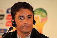 RIO DE JANEIRO, RJ, 30 DE MAIO 2012 - SORTEIO COPA DAS CONFEDERACOES - O es jogador Bebeto, durante sorteio da Copa das Confederações, torneio que antecede a Copa do Mundo e que será disputado entre 15 e 30 de junho de 2013. No Hotel Sheraton, na Barra da Tijuca nesta quarta-feira, 30. (FOTO: GUTO MAIA / BRAZIL PHOTO PRESS).