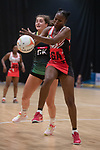 Northern Ireland v Trinidad & Tobago<br /> 2019 Test Match Series<br /> Viola Arena Wales<br /> 06.07.19<br /> ©Steve Pope<br /> Sportingwales