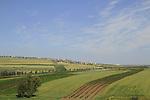 Israel, Yavne'el valley in the Lower Galilee, Poriya is in the background