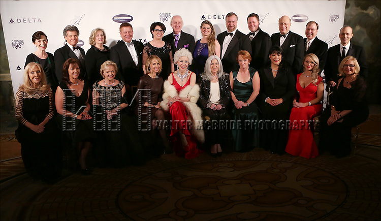 The Drama League Committee at the Drama League's 30th Annual 'Musical Celebration of Broadway' honoring Neil Patrick Harris at the Pierre Hotel on February 3, 2014 in New York City.