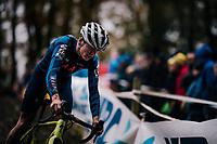 Tom Pidcock (GBR)<br /> <br /> Men's race<br /> Superprestige Asper-Gavere 2018 (BEL)