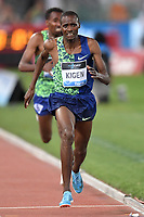 Benjamin Kigen of Kenia competes in the men's 3000m steeplechase at the IAAF Diamond League Golden Gala <br /> Roma 06-06-2019 Stadio Olimpico, <br /> Meeting Atletica Leggera <br /> Photo Andrea Staccioli / Insidefoto
