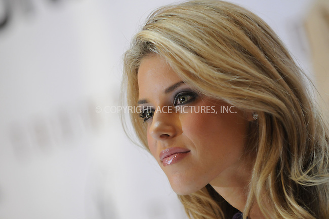 WWW.ACEPIXS.COM . . . . . ....May 12 2009, New York City....Miss California USA, Carrie Prejean speaks to members of the press during a press conference at Trump Tower on May 12, 2009 in New York City.......Please byline: KRISTIN CALLAHAN - ACEPIXS.COM.. . . . . . ..Ace Pictures, Inc:  ..tel: (212) 243 8787 or (646) 769 0430..e-mail: info@acepixs.com..web: http://www.acepixs.com