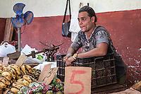 Produce seller. La Habana Vieja