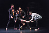 London, UK. 22.09.2015. Québécois dance company Cas Public make their Royal Opera House debut with their new work Symphonie Dramatique, part of Deloitte Ignite 2015 from 23-26 September 2015, the annual festival that kickstarts the Royal Opera House Season. Photo shows: Marc-André Poliquin, Roxane Duchesne-Roy, Mickaël Spinnhirny, Cai Glover. Photo - © Foteini Christofilopoulou.