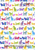 Kate, GIFT WRAPS, GESCHENKPAPIER, PAPEL DE REGALO, paintings+++++Bright cats repeat,GBKM45,#gp#, EVERYDAY ,sticker,stickers