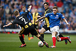 Lewis Macleod on the attack