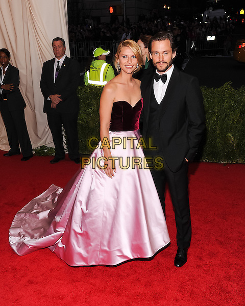 05 May 2014 - New York, New York- Claire Danes, Hugh Dancy. &quot;Charles James: Beyond Fashion&quot; Costume Institute Gala. <br /> CAP/ADM/CS<br /> &copy;Christopher Smith/AdMedia/Capital Pictures